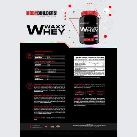 Imagem de Whey Protein - Waxy Whey 900g Morango  Bodybuilders