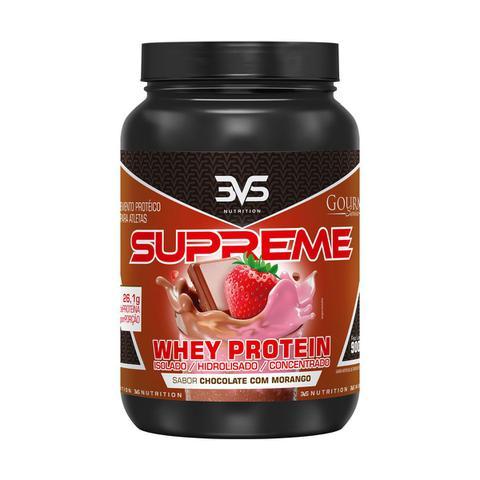 Imagem de Whey supreme 900 g - 3vs (morango e chocolate)