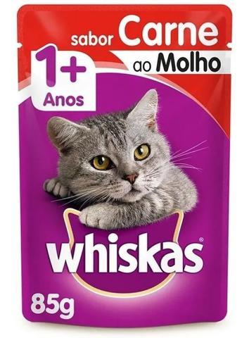 Imagem de Whiskas Sachê Carne para Gatos Adultos Pague 10 e Leve 12