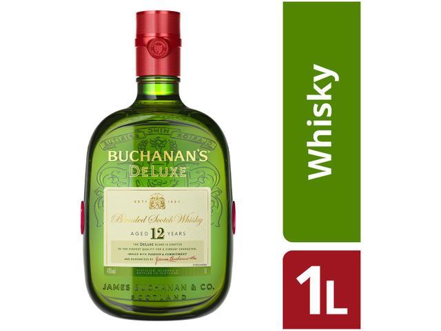 Imagem de Whisky Buchanans Deluxe 12 anos Blended 1L