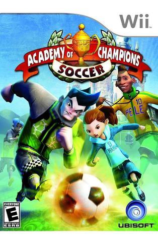 Jogo Academy Of Champions SoCCEr - Wii - Nintendo