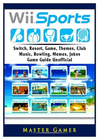 Imagem de Wii Sports, Wii U, Switch, Resort, Game, Themes, Club, Music, Bowling, Memes, Jokes, Game Guide Unofficial