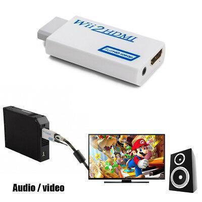 Imagem de Wii2hdmi - Adaptador Conversor Nintendo Wii Para Hdmi 1080p