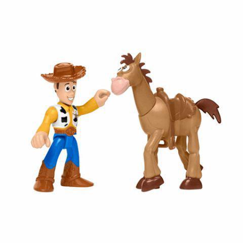 Imagem de Woody e Bala no Alvo Toy Story 4 Imaginext - Mattel GFT01