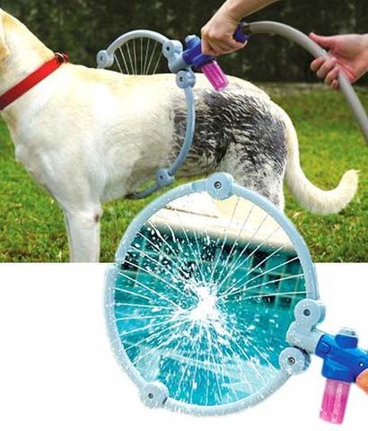 Imagem de Woof Washer Lava Jato 360 Para Banho Cachorros Cao Pets Novidade Petshop