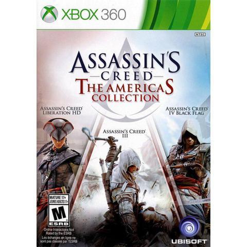 Imagem de Xbox 360 Assassin's Creed: America's Collection