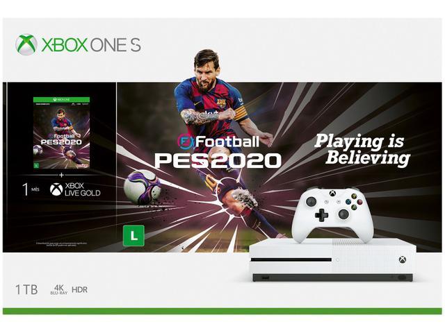 Imagem de Xbox One S 1 Controle Microsoft com 1 Jogo