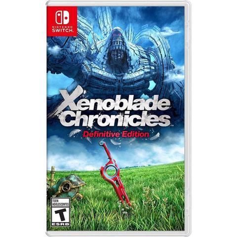 Jogo Xenoblade Chronicles: Definitive Edition - Switch - Monolith Soft