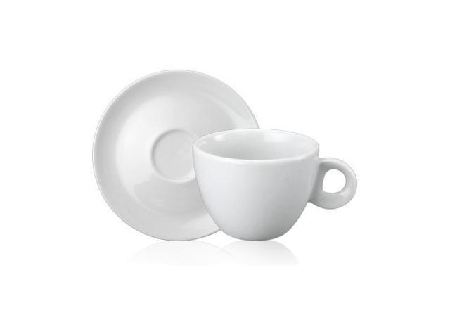 Imagem de Xícara de Chá com Pires Porcelana 165 ml Sofia Schmidt - SCH 303
