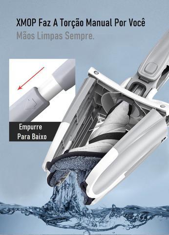 Imagem de XMOP Esfregão Extrusão Limpa Seca O Melhor C/ Escova Limpeza
