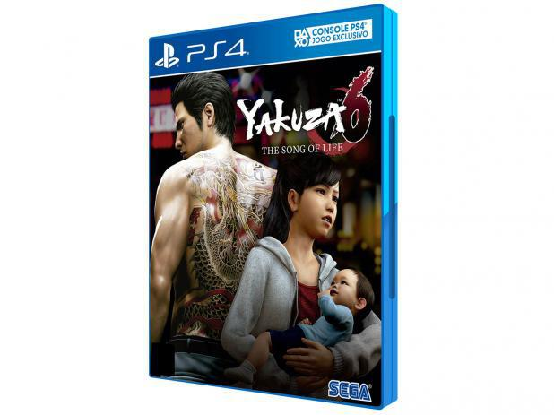 Imagem de Yakuza 6 The Song of Life Ps4