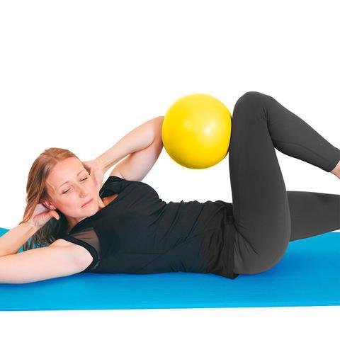 Imagem de Yellow ball  bola para pilates e exercicios