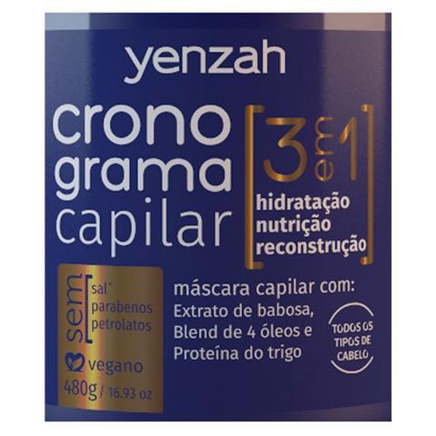 Imagem de Yenzah Cronograma Capilar 3 Em 1 - Máscara de Tratamento