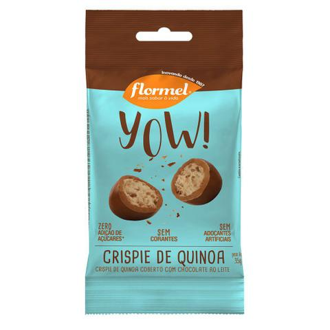 Imagem de Yow de crispie de quinoa 35g flormel