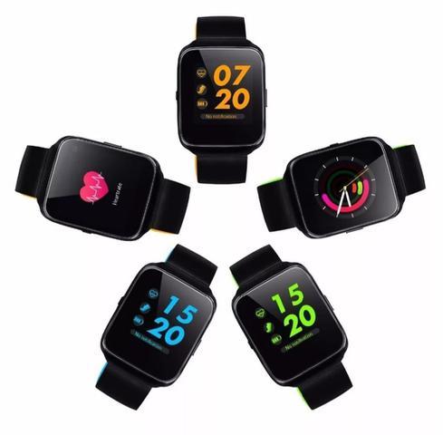 Imagem de Z40 Relógio Inteligente Smart Watch Bluetooth Chip Android S7 Preto