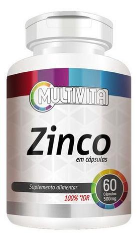 Imagem de Zinco 60 Cápsulas 500mg - Flora Nativa