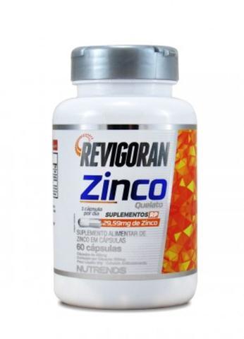 Imagem de Zinco Quelato 29,59mg de Zinco 500mg 60 Capsulas Nutrends