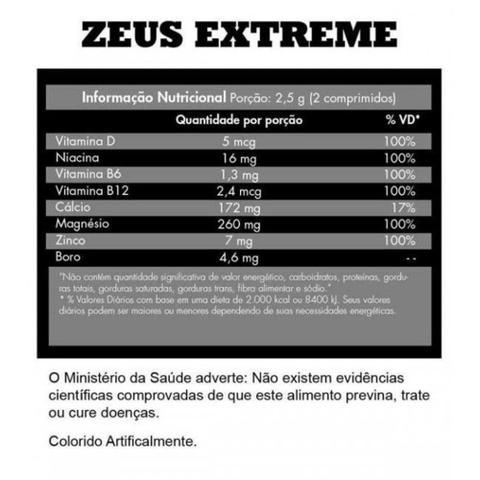 Imagem de ZMA Zeus Extreme Iridium Labs 60 Tabs
