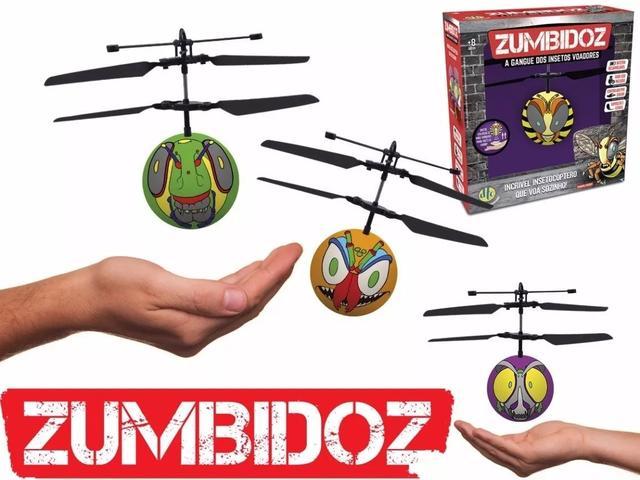 Imagem de Zumbidoz Voadores Insetocóptero Mini Drone Recarregável Dtc