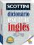 Imagem de Livro - Scottini - Dicionário (60 mil verbetes): Inglês